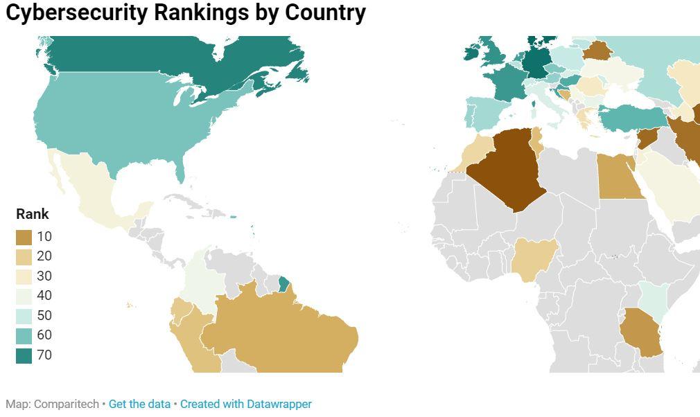 Perú, segundo país con menos ciberseguridad en América Latina