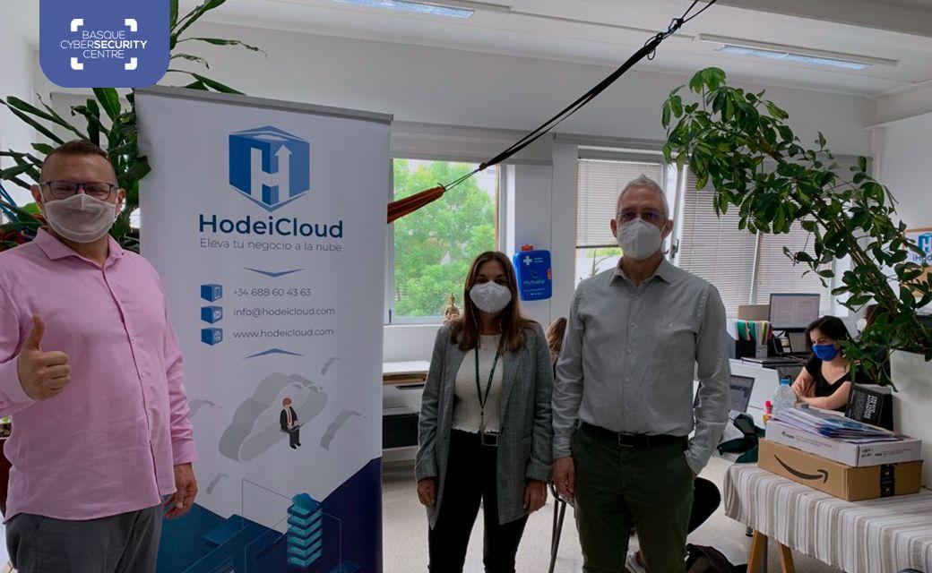 HodeiCloud recibe la visita del Basque Cybersecurity Centre