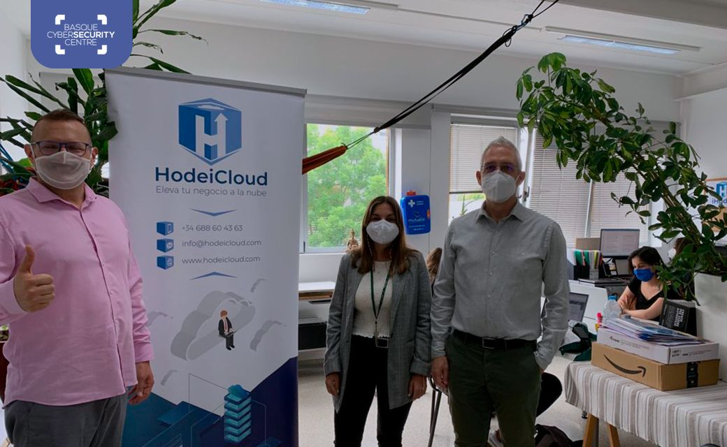 The Basque Cybersecurity Centre visits HodeiCloud